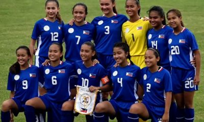 Tiebreaker Times Philippines U-16 downs hosts Nepal to open campaign Football News Philippine Malditas  Philippine Women's National U-16 Football Team Odeza Yap Nepal (Football) Mikaela Villacin Maria Lazo Keanne Maicah Alamo 2019 AFC U-16 Women's Championship Qualifiers