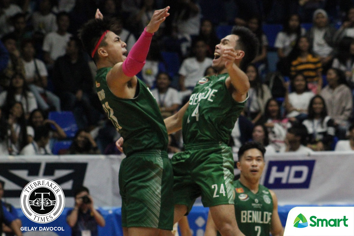 Tiebreaker Times Saint Benilde to file letter of inquiry re: Perpetual Altas case Basketball CSB NCAA News UPHSD  Tonton Peralta Peter Cayco Perpetual Seniors Basketball NCAA Season 94 Seniors Basketball NCAA Season 94 Kyt Jimenez Kim Aurin Frank Gusi Edgar Charcos Bro. Dennis Magbanua