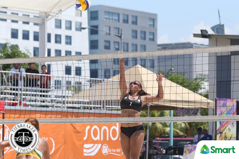 Tiebreaker Times Mich Morente relishes first run as Lady Spiker Beach Volleyball DLSU News UAAP  UAAP Season 81 Women's Beach Volleyball UAAP Season 81 Mich Morente DLSU Women's Volleyball