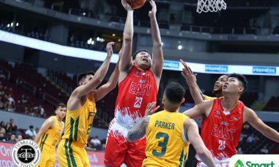 Tiebreaker Times UE stuns FEU with embarrassing 25-point rout Basketball FEU News UAAP UE  UE Men's Basketball UAAP Season 81 Men's Basketball UAAP Season 81 Philip Manalang Olsen Racela Joe Silva Jason Varilla Hubert Cani FEU Men's Basketball Arvin Tolentino Alvin Pasaol
