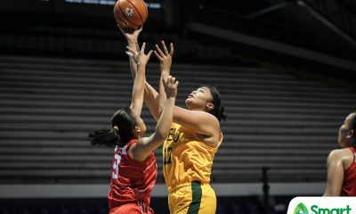 Tiebreaker Times Claire Castro makes triumphant return, powers FEU demolition of UE Basketball FEU News UAAP UE  Valerie Mamaril UE Women's Basketball UAAP Season 81 Women's Basketball UAAP Season 81 FEU Women's Basketball fatima quiapo Claire Castro Bert Flores Anna Requiron Aileen Lebornio