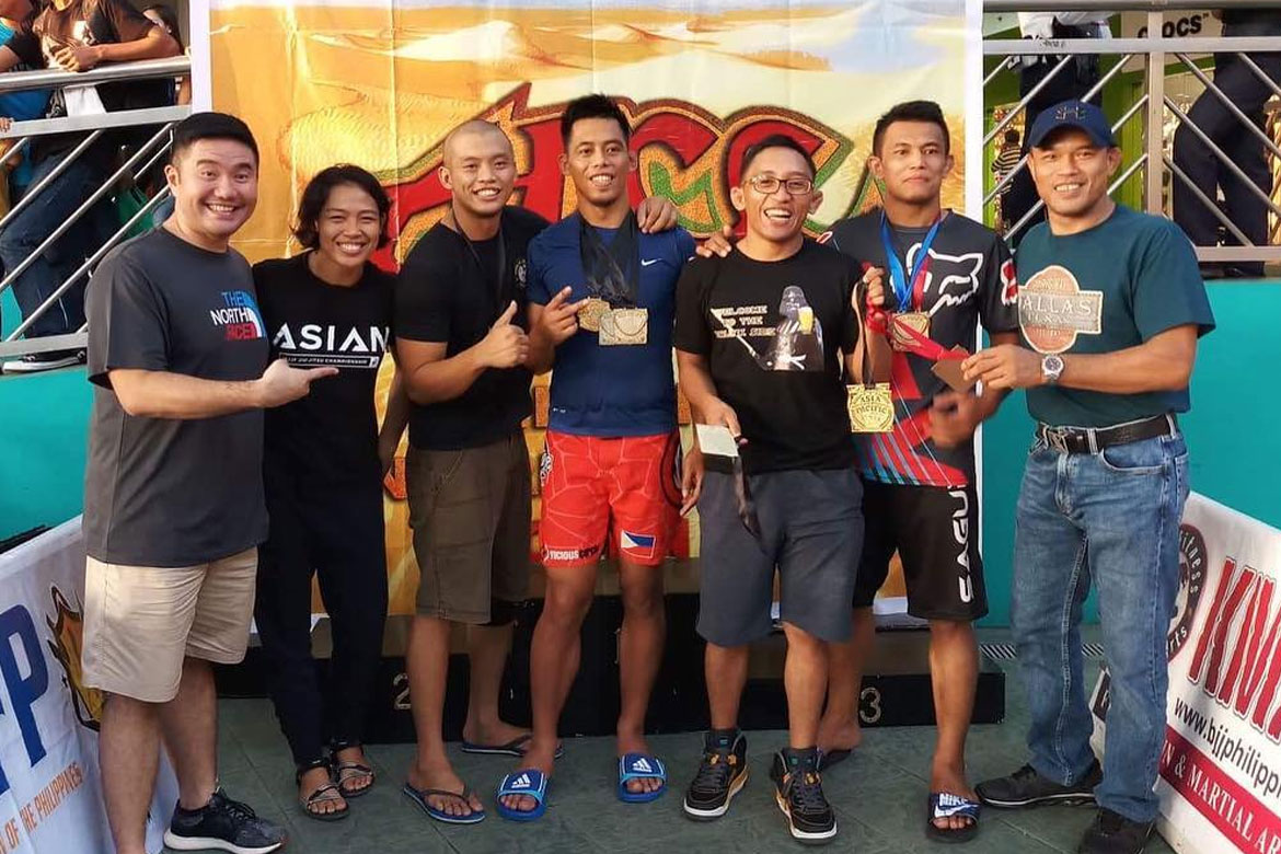 Tiebreaker Times WATCH: Team Lakay's and Clube de Jiu Jitsu Filipinas' Honorio Banario wins grappling gold Brazilian Jiu Jitsu News ONE Championship  Team Lakay Honorio Banario Clube de Jiu Jitsu Filipinas