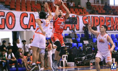 Tiebreaker Times Valenzuela gains share of lead in North; Pateros continues to top South Basketball News PBA M-League  Valenzuela Workhorses Taguig Generals Solid San Juan San Juan Big Chill Reneford Ruaya Paranaque Green Berets Manila All-Stars Las Pinas Home Defenders King Astrero Josiah Esplana Johnnel Bauzon John Tayongtong John Patrick Acol Isang Pateros Homer Jagunap Erwin Sta. Maria Caloocan Supremos Aevin Coquia 2018 M-League Season