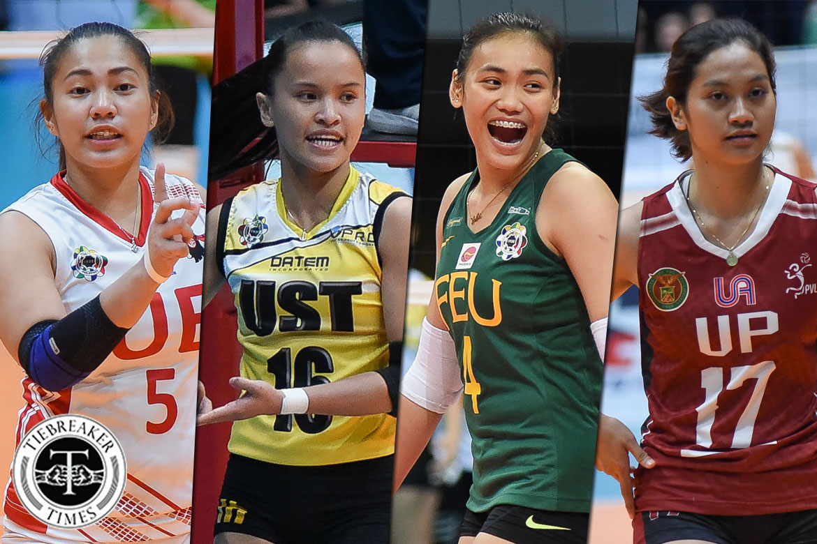 Tiebreaker Times 6 teams open inaugural PSL Collegiate Grand Slam AdU FEU News PSL UP UST Volleyball  UST Women's Volleyball UP Women's Volleyball UE Women's Volleyball FEU Women's Volleyball DLSU-Dasmarinas Lady Patriots Colegio San Agustin-Binan Eagles 2018 PSL Season 2018 PSL Collegiate Grand Slam