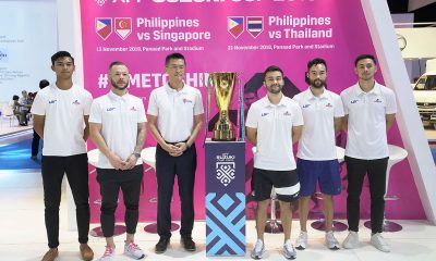 Tiebreaker Times Before Asian Cup, Azkals look to bag Suzuki Cup Football News Philippine Azkals  Stephan Schrock Manny Ott Kevin Ingreso 2018 AFF Suzuki Cup