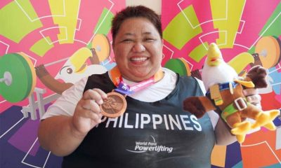 Tiebreaker Times Adeline Dumapong-Ancheta picks up bronze in Powerlifting News Para Sports Weightlifting  Adeline Dumapong-Ancheta 2018 Asian Para Games