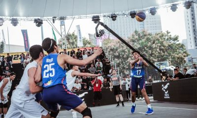 Tiebreaker Times RJ Abarrientos, Ricci Rivero link up, keep Team Pilipinas' playoff hopes alive 3x3 Basketball Gilas Pilipinas News  Turkmenistan (Basketball) Ronnie Magsanoc RJ Abarrientos Ricci Rivero Rhayyan Amsali Jeepy Faundo 2018 FIBA 3x3 U23 World Cup