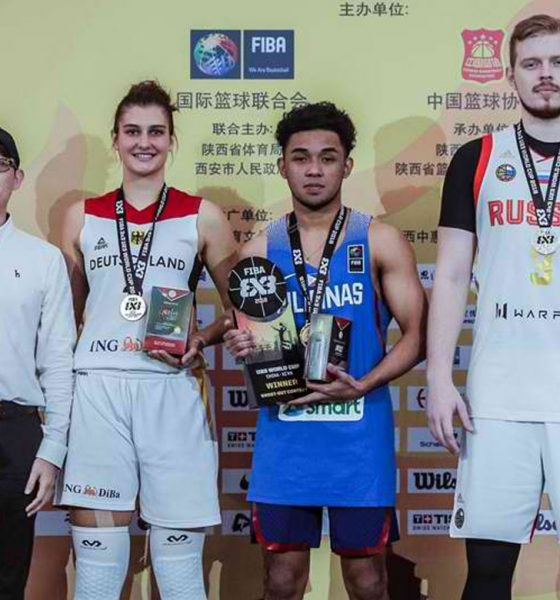 Tiebreaker Times RJ Abarrientos brings home U23 Shootout gold 3x3 Basketball Gilas Pilipinas News  RJ Abarrientos 2018 FIBA 3x3 U23 World Cup