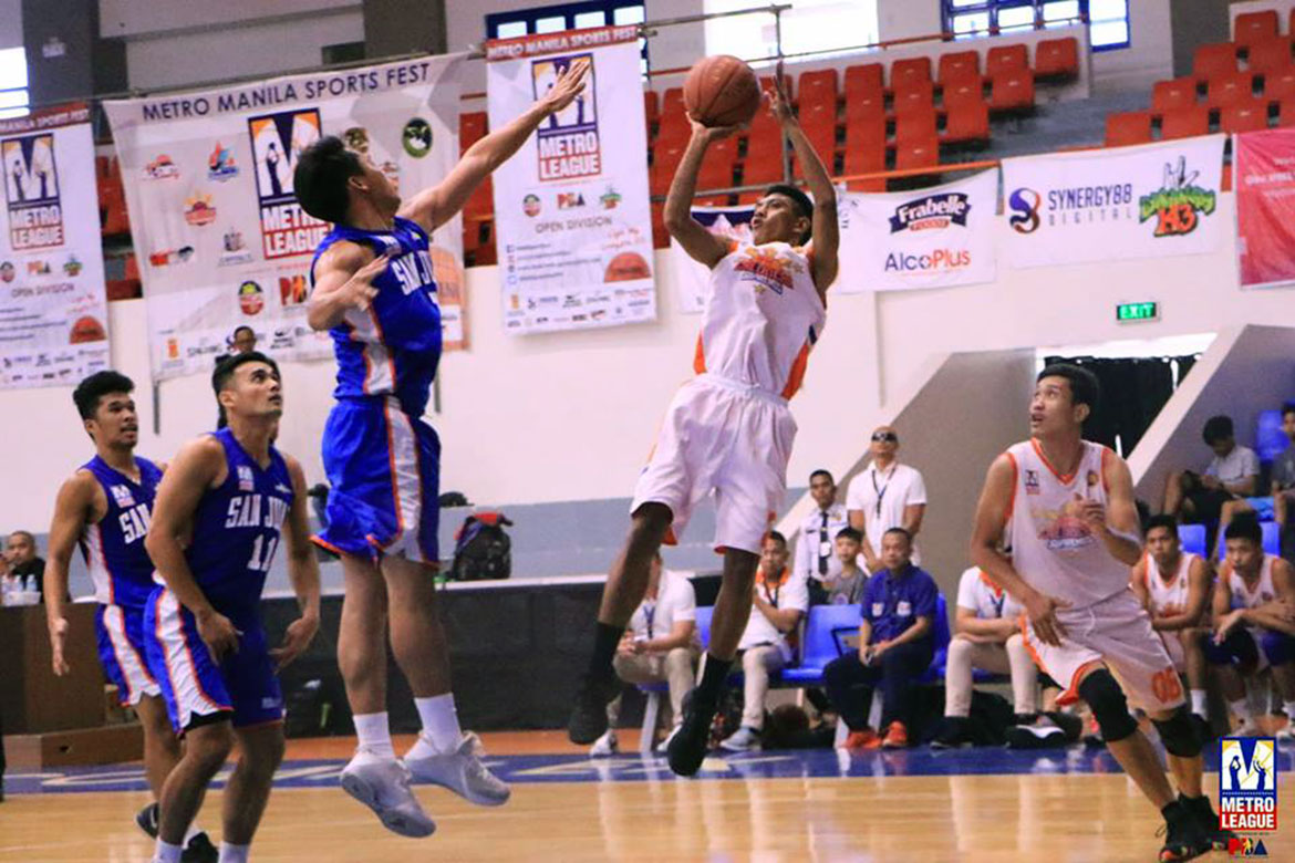 Tiebreaker Times Caloocan, Pateros keep twice-to-beat hopes alive after gutsy performances Basketball News PBA M-League  Solid San Juan Michael John Perez MC Caceres Marikina Shoelanders Isang Pateros Francis Munsayac Eric Mabazza Caloocan Supremos
