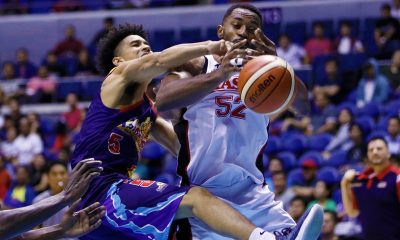 Tiebreaker Times Alaska extends Rain or Shine's misery to three games Basketball News PBA  Vic Manuel Terrence Watson Simon Enciso Rain or Shine Elasto Painters PBA Season 43 Mike Harris Maverick Ahanmisi Ed Daquioag Chris Banchero Caloy Garcia Beau Belga Alex Compton Alaska Aces 2018 PBA Governors Cup
