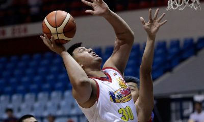 Tiebreaker Times Beau Belga fears foot injury might be plantar fasciitis Basketball News PBA  Rain or Shine Elasto Painters PBA Season 43 Beau Belga 2018 PBA Governors Cup