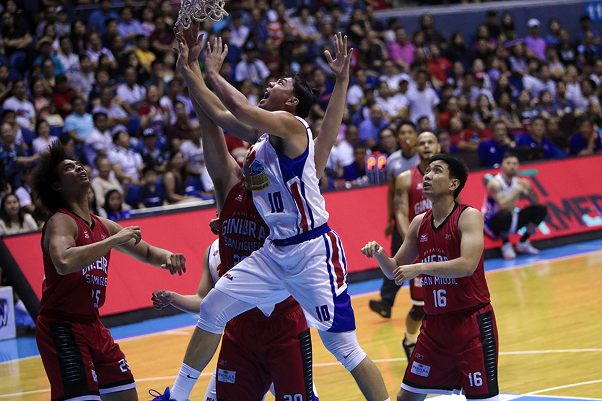 Tiebreaker Times From 28 to 0: Ian Sangalang admits 'gigil' got the best of him Basketball News PBA  PBA Season 43 Magnolia Hotshots Ian Sangalang 2018 PBA Governors Cup