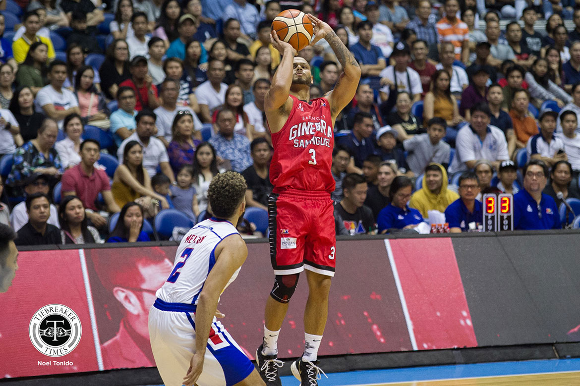 Tiebreaker Times Sol Mercado, Greg Slaughter make timely Ginebra returns Basketball News PBA  Sol Mercado PBA Season 43 Greg Slaughter Barangay Ginebra San Miguel 2018 PBA Governors Cup