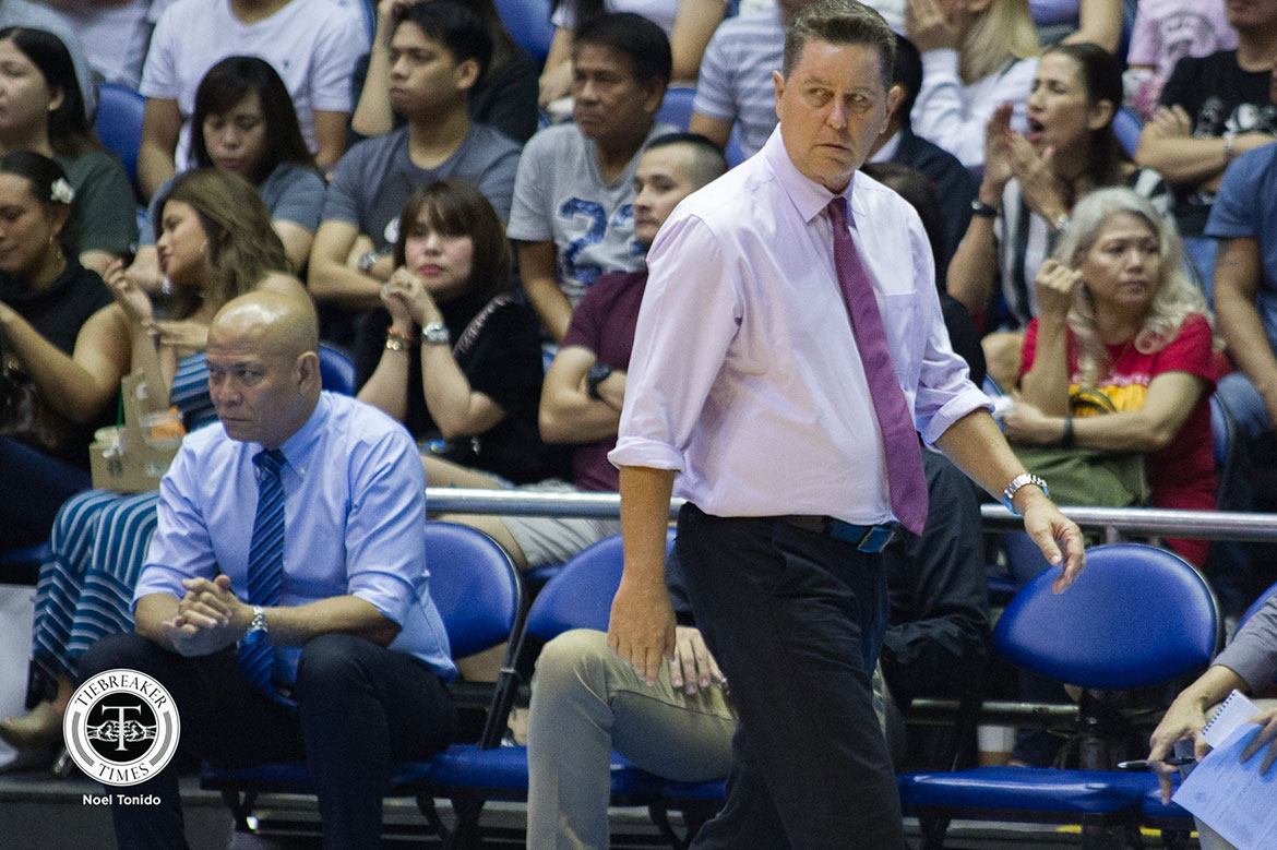 Tiebreaker Times Being number one just 'pogi points' for Ginebra, says Tim Cone Basketball News PBA  Tim Cone PBA Season 43 Barangay Ginebra San Miguel 2018 PBA Governors Cup
