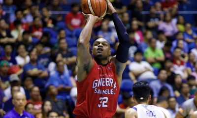 Tiebreaker Times Justin Brownlee's naturalization will be done quickly, believes Yeng Guiao Basketball News PBA  Yeng Guiao PBA Season 43 Justin Brownlee Barangay Ginebra San Miguel 2018 PBA Governors Cup