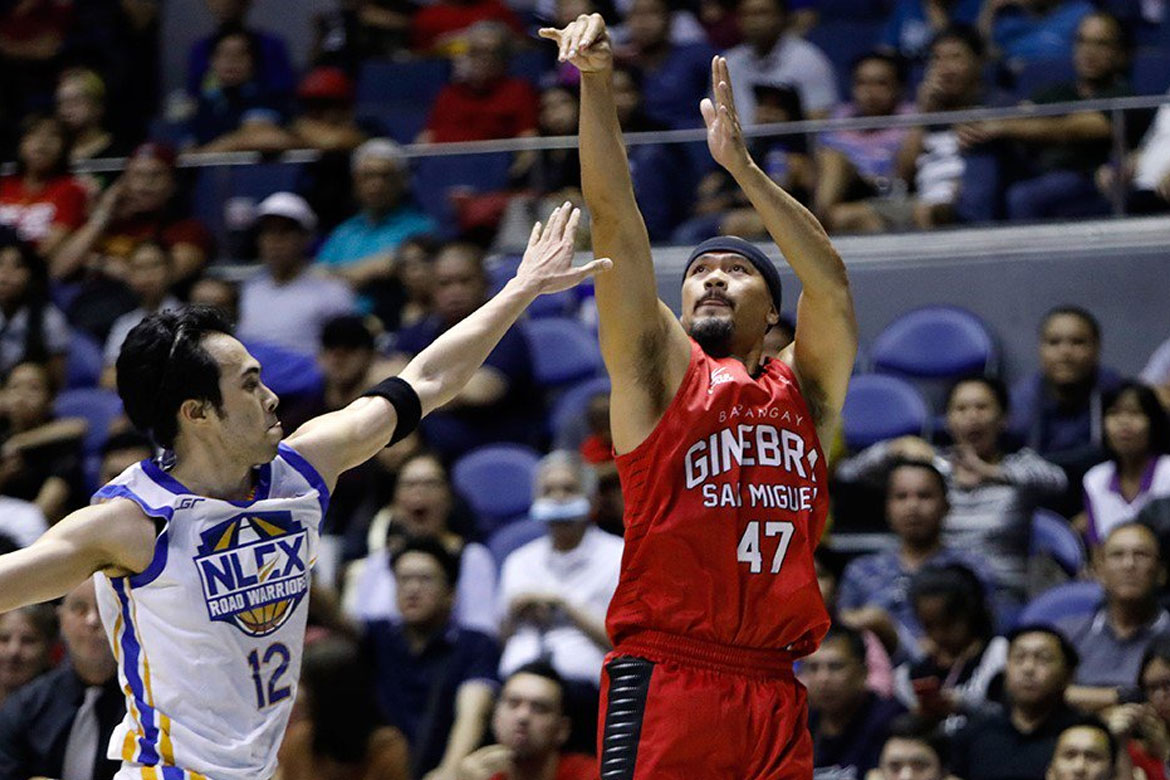 Tiebreaker Times Mark Caguioa reflects on journey to 10k Basketball News PBA  PBA Season 43 Mark Caguioa Barangay Ginebra San Miguel 2018 PBA Governors Cup