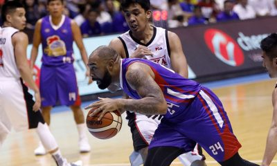 Tiebreaker Times Romeo Travis on facing former team Alaska: 'It's pretty cool to play against my guys' Basketball News PBA  Romeo Travis PBA Season 43 Magnolia Hotshots Alaska Aces 2018 PBA Governors Cup