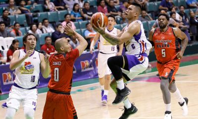 Tiebreaker Times Jio Jalalon notches triple-double as Hotshots blast Elite with 34-point rout Basketball News PBA  Romeo Travis PBA Season 43 Paul Lee Mark Barroca Magnolia Hotshots JP Erram Jio Jalalon Ian Sangalang Henry Walker Chito Victolero Bong Ramos Blackwater Elite Allein Maliksi 2018 PBA Governors Cup
