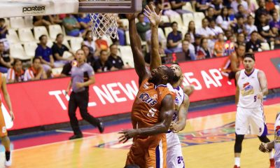 Tiebreaker Times Meralco wins second straight, stuns Magnolia Basketball News PBA  Romeo Travis Reynel Hugnatan Paul Lee Norman Black Ian Sangalang Cliff Hodge Chris Newsome Baser Amer Allen Durham