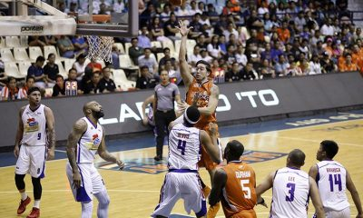 Tiebreaker Times Cliff Hodge optimistic as Meralco aims to turn around conference Basketball News PBA  PBA Season 43 Meralco Bolts Cliff Hodge 2018 PBA Governors Cup