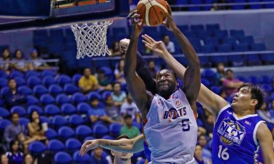 Tiebreaker Times Allen Durham not looking far ahead even as Meralco keeps playoff hopes alive Basketball News PBA  PBA Season 43 Meralco Bolts Allen Durham 2018 PBA Governors Cup