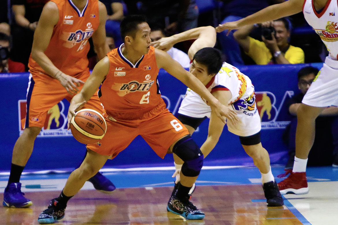 Tiebreaker Times Mike Tolomia readily answers call as Meralco wins 3rd straight Basketball News PBA  PBA Season 43 Mike Tolomia Meralco Bolts 2018 PBA Governors Cup