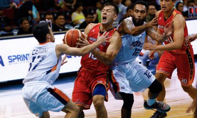 Tiebreaker Times NorthPort wins 2nd straight, sends Meralco to 6th loss in a row Basketball News PBA  Sean Anthony Rashad Woods Pido Jarencio PBA Season 43 Northport Batang Pier Norman Black Mike Tolomia Meralco Bolts Cliff Hodge Chris Newsome Allen Durham 2018 PBA Governors Cup