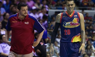 Tiebreaker Times Caloy Garcia surprised with Raymond Almazan's reported grudge against him Basketball News PBA  Raymond Almazan Rain or Shine Elasto Painters PBA Season 43 Caloy Garcia 2018 PBA Governors Cup