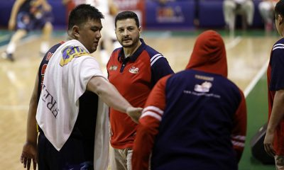 Tiebreaker Times Beau Belga rues bad timing of injury: 'Kung kailan wala si Raymond, kailangan ka ng team, na-injury pa' Basketball News PBA  Rain or Shine Elasto Painters PBA Season 43 Beau Belga 2018 PBA Governors Cup