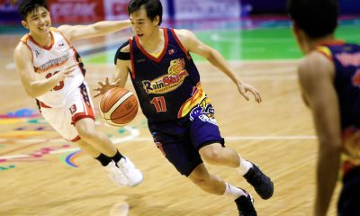 Tiebreaker Times Chris Tiu relieved to have broken personal slump with career-best performance Basketball News PBA  Rain or Shine Elasto Painters PBA Season 43 Chris Tiu 2018 PBA Governors Cup