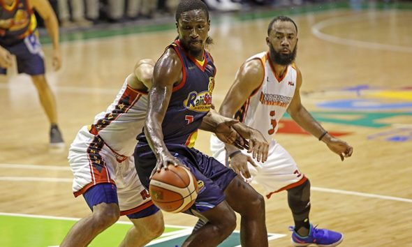 Tiebreaker Times Terrence Watson continues to prove worth for Rain or Shine Basketball News PBA  Terrence Watson Rain or Shine Elasto Painters PBA Season 43 Caloy Garcia 2018 PBA Governors Cup