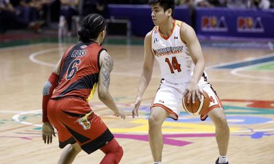 Tiebreaker Times Jonathan Grey out for season due to torn patellar tendon Basketball News PBA  PBA Season 44 Northport Batang Pier Nico Elorde Jonathan Grey 2019 PBA Commissioners Cup