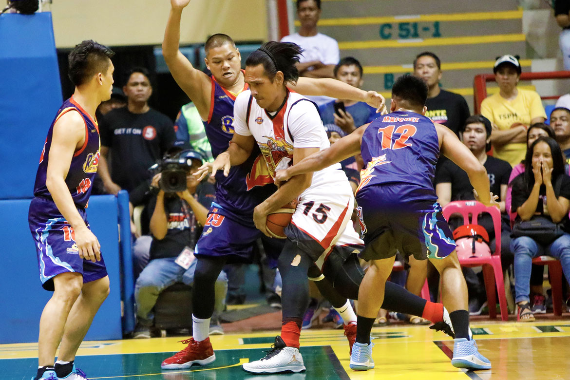Tiebreaker Times Though 'nakakapanibago', June Mar Fajardo simply glad to be back Basketball News PBA  San Miguel Beermen PBA Season 43 June Mar Fajardo 2018 PBA Governors Cup