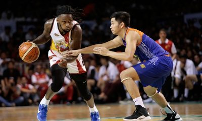 Tiebreaker Times San Miguel comes from behind, bursts TNT's three-game winning streak Basketball News PBA  Terrence Romeo Roger Pogoy PBA Season 43 Marqus Blakely Marcio Lassiter Leo Austria Kevin Murphy Christian Standhardinger Bong Ravena Arwind Santos 2018 PBA Governors Cup