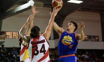 Tiebreaker Times Roger Pogoy rues untimely exit as TNT melts down late vs San Miguel Basketball News PBA  TNT Katropa Roger Pogoy PBA Season 43 2018 PBA Governors Cup
