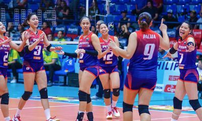 Tiebreaker Times Petron starts title defense with decisive sweep of Cocolife News PSL Volleyball  Shaq delos Santos Rhea Dimaculangan Petron Blaze Spikers Moro Branislav Kalei Mau Cocolife Asset Managers Ces Molina Buding Duremdes Aiza Maizo-Pontillas 2018 PSL Season 2018 PSL All Filipino Conference