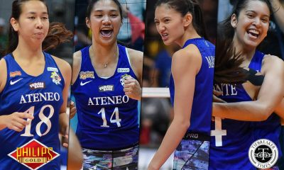 Tiebreaker Times Ateneo seniors sharing load of leadership ADMU News PVL Volleyball  Oliver Almadro Bea De Leon Ateneo-Motolite Lady Eagles 2018 PVL Season 2018 PVL Open Conference