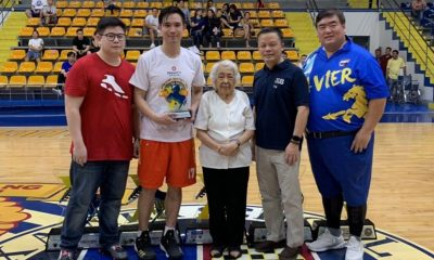 Tiebreaker Times Charles Tiu waxes hot, tows Mighty-Prudential to 4th straight XABL crown Basketball News  TY Tang Joseph Yeo Charles Tiu Bong Tan 2018 Xavier Alumni Basketball League