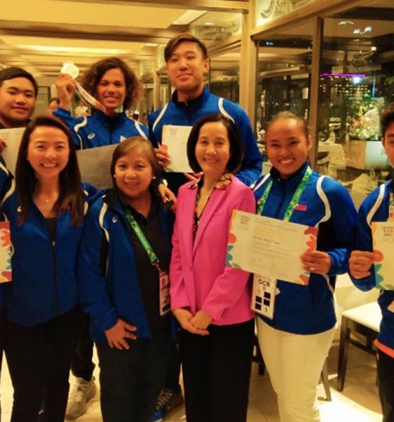 Tiebreaker Times Team Pilipinas end YOG campaign with one silver Archery Golf News  Yuka Saso Nicole Tagle Jano Corpus 2018 Youth Olympic Games