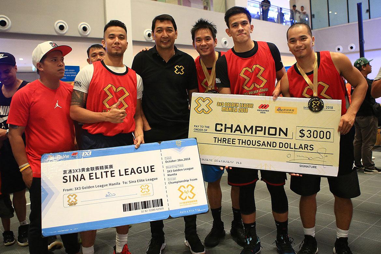 Tiebreaker Times Cedrick Ablaza-led Big Boss Idol takes down Golden League Manila, advances to Elite League 3x3 Basketball NBL News  Rhoy Cayanan Jhapz Bautista Cedrick Ablaza Bhabap Sta. Maria 2018 3x3 Golden League Manila