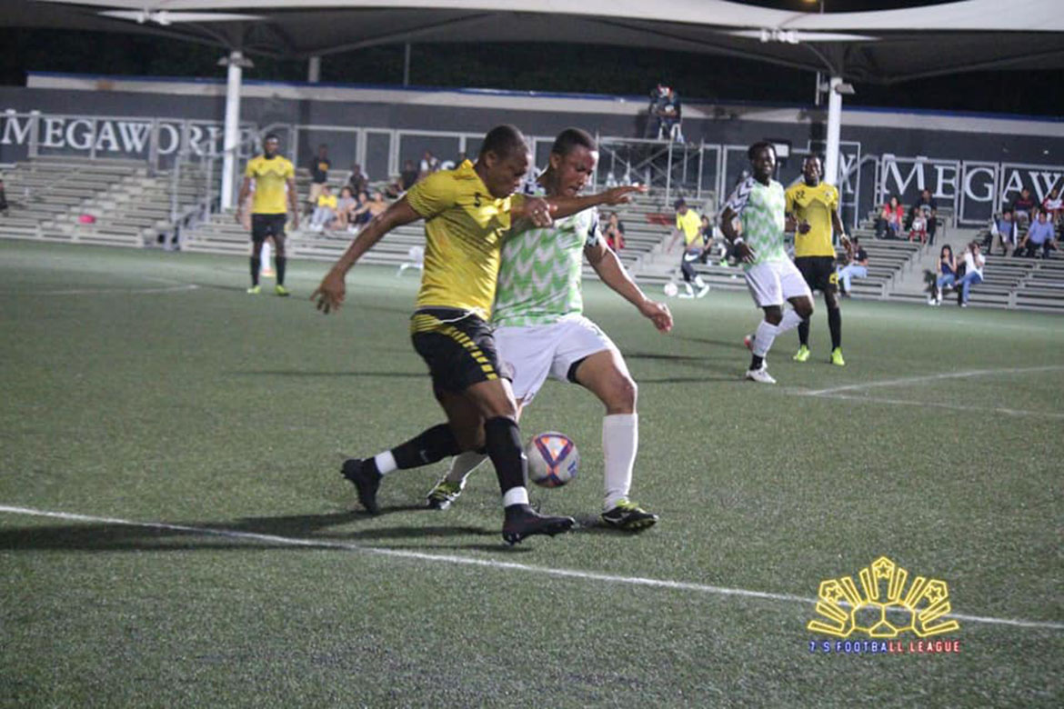 Tiebreaker Times Emmanuel Donkor delivers in shootout as Super Eagles take back-to-back Football News  Super Eagles Stephan Schrock Sam Adams Mark Hartmann Kevin Ingreso Ghana FC Fidelis Nnabuife Emmanuel Donkor Daniel Matsunaga Aly Borromeo 2018 7's Football League