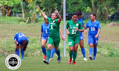 Tiebreaker Times PFFWL Roundup: La Salle conquers Ateneo as UST nails sixth win ADMU DLSU Football News PFF Women's League UP UST  Vanessa Estrada UST Women's Football UP Women's Football Shelah Mae Cadag PFF Women's League Season 2 OutKast FC Nic Adlawan Mika Punzalan Mariane Caparros Lalaine Durano Kyra Dimaandal Kyla Inquig Inna Palacios Hiraya FC Hans-Peter Smit Green Archers United FC Elvin Marcellana DLSU Women's Football De La Salle Zobel Girls Football Daniell Javier Ateneo Women's Football Alisha Del Campo Aging Rubio