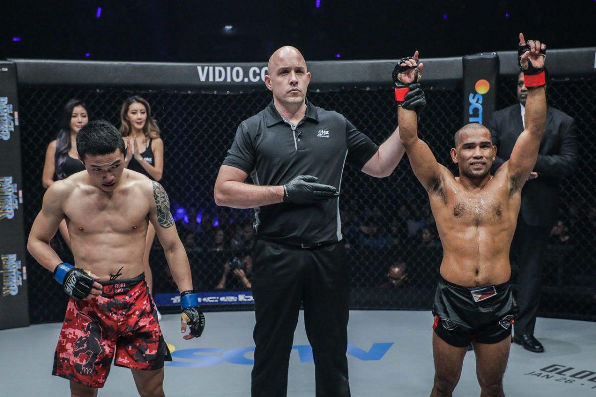 Tiebreaker Times At 39, Rene Catalan continues to improve Mixed Martial Arts News ONE Championship  Rene Catalan
