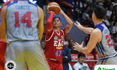 Tiebreaker Times Jerome Garcia wants to end EAC run strong: 'Hindi ako papayag matalo' Basketball EAC NCAA News  NCAA Season 94 Seniors Basketball NCAA Season 94 Jerome Garcia EAC Seniors Basketball
