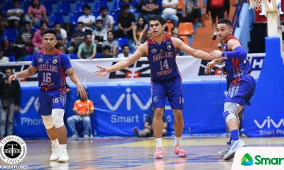 Tiebreaker Times Ian Alban focuses on family business as Levi Dela Cruz goes to Nueva Ecija AU Basketball NCAA News  NCAA Season 95 Seniors Basketball NCAA Season 95 Levi dela Cruz Ian Alban Arellano Seniors Basketball