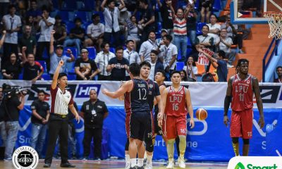 Tiebreaker Times Letran rallies back against Lyceum, figures in controversial ending Basketball CSJL LPU NCAA News  Topex Robinson NCAA Season 94 Seniors Basketball NCAA Season 94 Mike Nzeusseu Lyceum Seniors Basketball Letran Seniors Basketball Larry Muyang JP Calvo Jeff Napa CJ Perez Bong Quinto