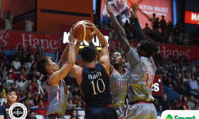Tiebreaker Times Good Knight, Letran: Lyceum advances to second straight finals Basketball CSJL LPU NCAA News  Topex Robinson NCAA Season 94 Seniors Basketball NCAA Season 94 Lyceum Seniors Basketball Letran Seniors Basketball Jeff Napa