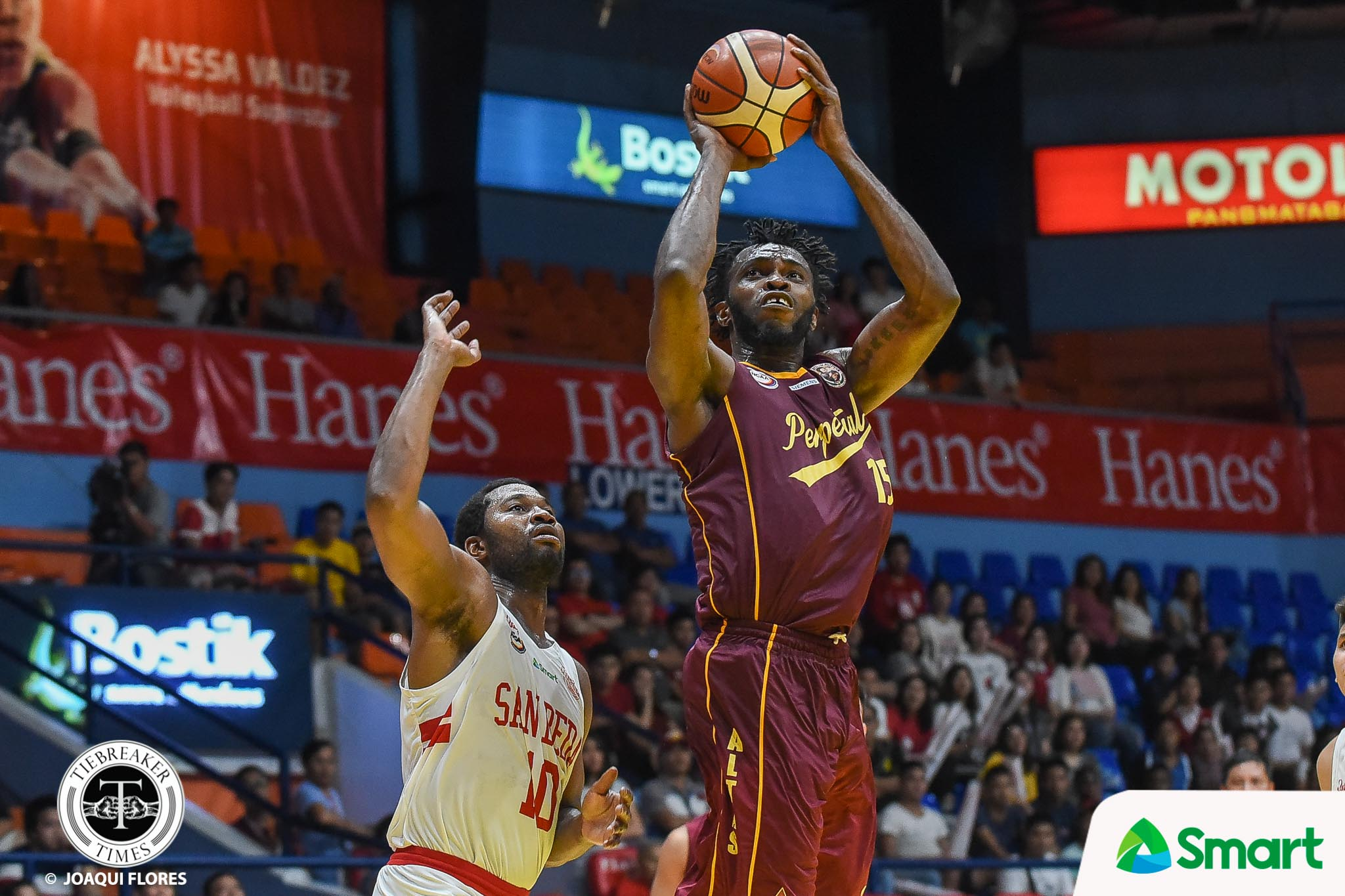 Tiebreaker Times Scottie Thompson glad Prince Eze will bring MVP plum back to Perpetual Basketball NCAA News UPHSD  Scottie Thompson Prince Eze Perpetual Seniors Basketball NCAA Season 94 Seniors Basketball NCAA Season 94