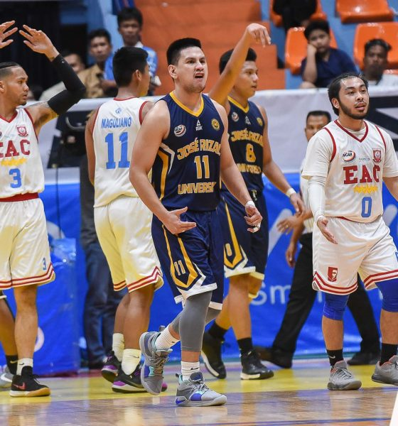 Tiebreaker Times Jed Mendoza in a dilemma: Graduate or play out final year Basketball JRU NCAA News  Vergel Meneses NCAA Season 94 Seniors Basketball NCAA Season 94 JRU Seniors Basketball Jed Mendoza
