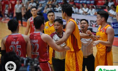 Tiebreaker Times Lyceum inches closer to twice-to-beat incentive after heated game against Mapua Basketball LPU MIT NCAA News  Warren Bonifacio Topex Robinson NCAA Season 94 Seniors Basketball NCAA Season 94 Mike Nzeusseu Mapua Seniors Basketball Lyceum Seniors Basketball Justin Serrano Jaycee Marcelino CJ Perez Atoy Co